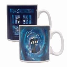 Dr Who Värmekänslig Mugg Tardis