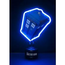 Doctor Who Tardis Neonlampa