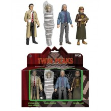 Twin Peaks Actionfigurer 4-pack