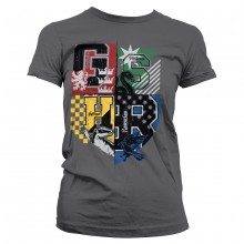 Harry Potter Dorm Crest Dam T-shirt