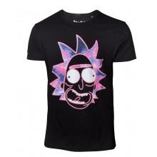 Rick And Morty T-shirt Neon Rick