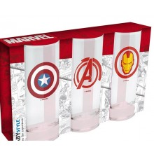 Marvel Glas 3-pack
