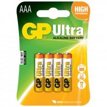 Ultra Alkaline AAA LR03 4-pack Batterier