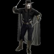V For Vendetta Maskeraddräkt