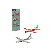 Träflygplan Retro 2-pack