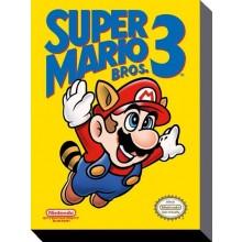 Super Mario Bros 3 Canvas 30x40cm