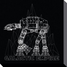 Star Wars Canvas AT-AT 40 x 40 cm