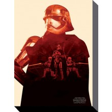 Star Wars Canvas Captain Phasma 60 x 80 cm