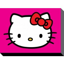 Hello Kitty Canvas Lila 60 x 80 cm