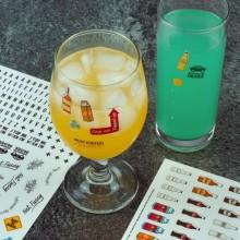 What´s My Drink Drinkmarkör Stickers 250 st