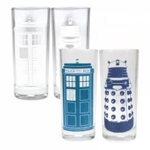 Dr Who Färgskiftande glas 2-pack