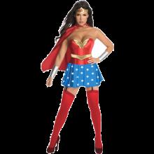 Wonder Woman Deluxe Maskeraddräkt