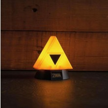 Zelda Triforce 3D Lampa