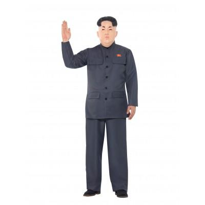 Nordkoreansk Diktator Maskeraddräkt