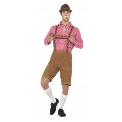 Mr Bavarian Maskeraddräkt Oktoberfest