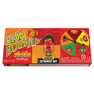 Jelly Belly Bean Boozled Flaming Five Spinner Gift Box