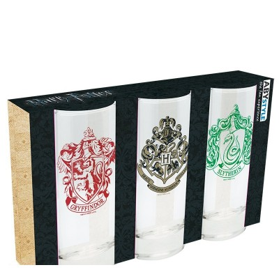 Harry Potter glas 3-pack