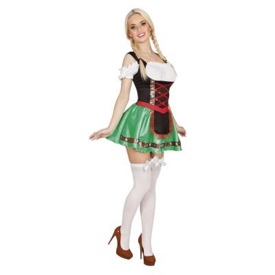 Tyrolerklänning Heidi Oktoberfest