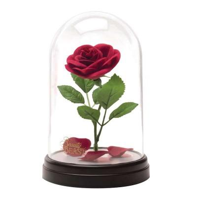 Skönheten Och Odjuret Förtrollad Ros Lampa