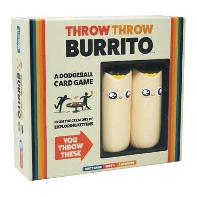 Throw Throw Burrito a Dodgeball Card Game