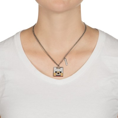 Minecraft Enchanted Wolf Halsband