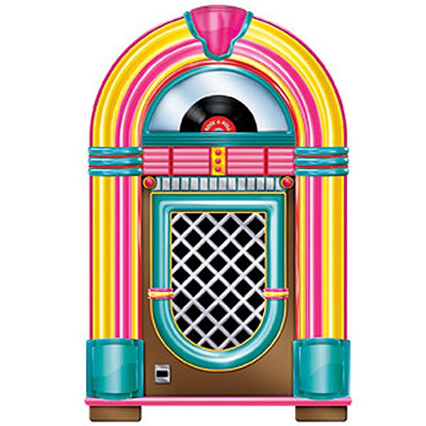 Dekoration Jukebox 50-tal