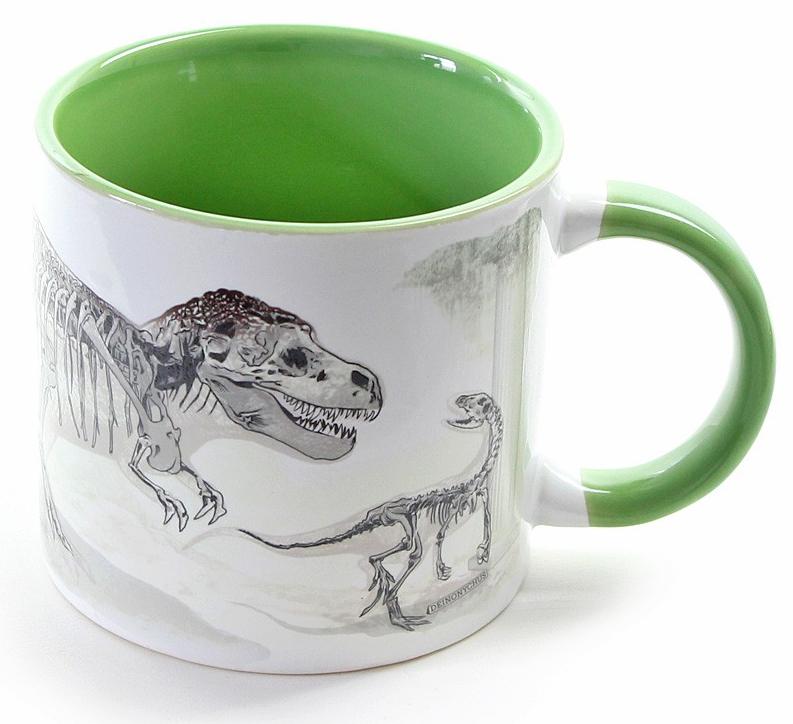 Dinosaurie - Värmekänslig Dinosaurie Mugg