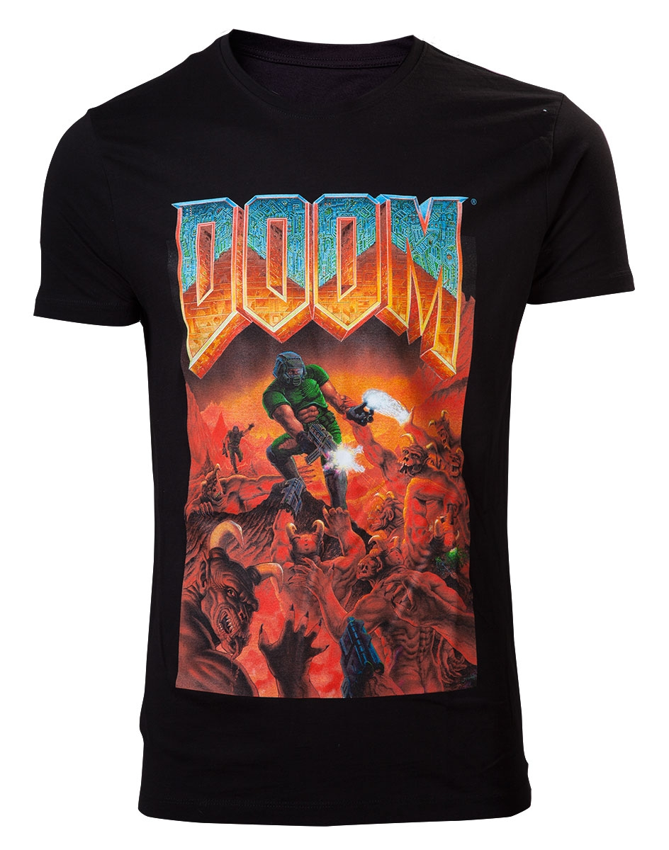 Doom Classic Box Art T-shirt