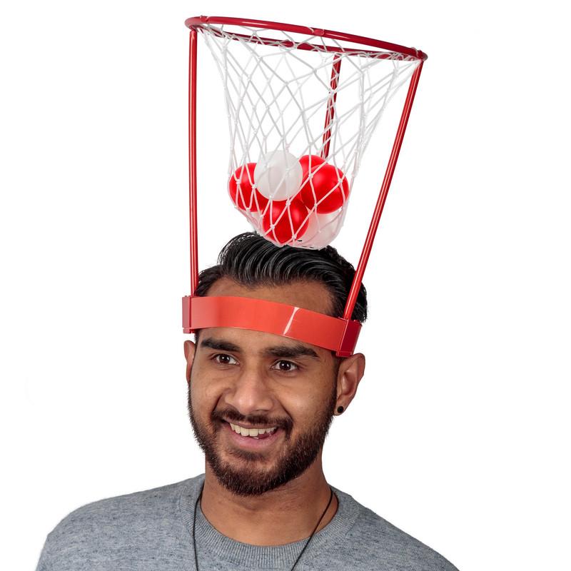 Hoop Head Korghatt Med Bollar