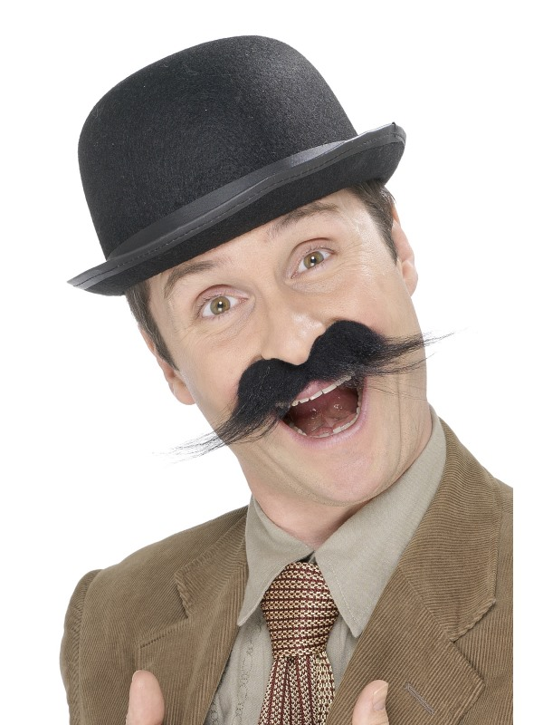 Mustasch Engelsk Detektiv