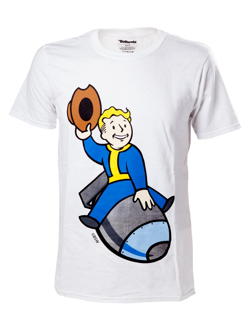 Fallout 4 - Vault Boy Bomber T-Shirt - XL