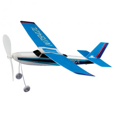 Gummiband Flygplan