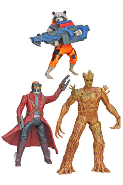 Guardians of the galaxy- figurer 13 cm Galaktiska krigare thumbnail