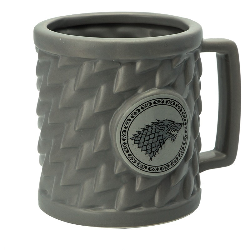 Game Of Thrones 3D Mugg Stark Wolf