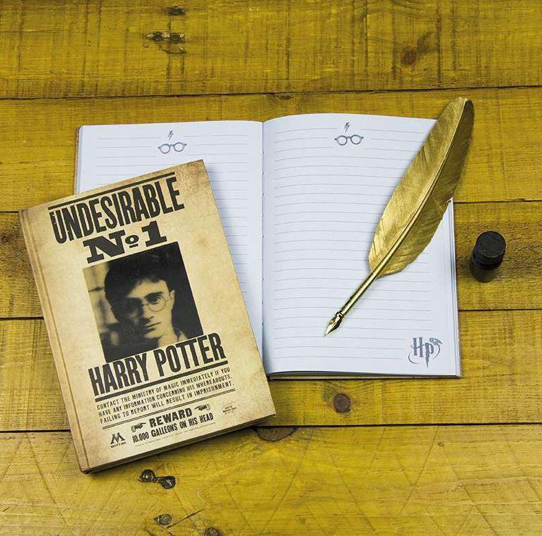 Harry Potter Lentikulär Anteckningsbok