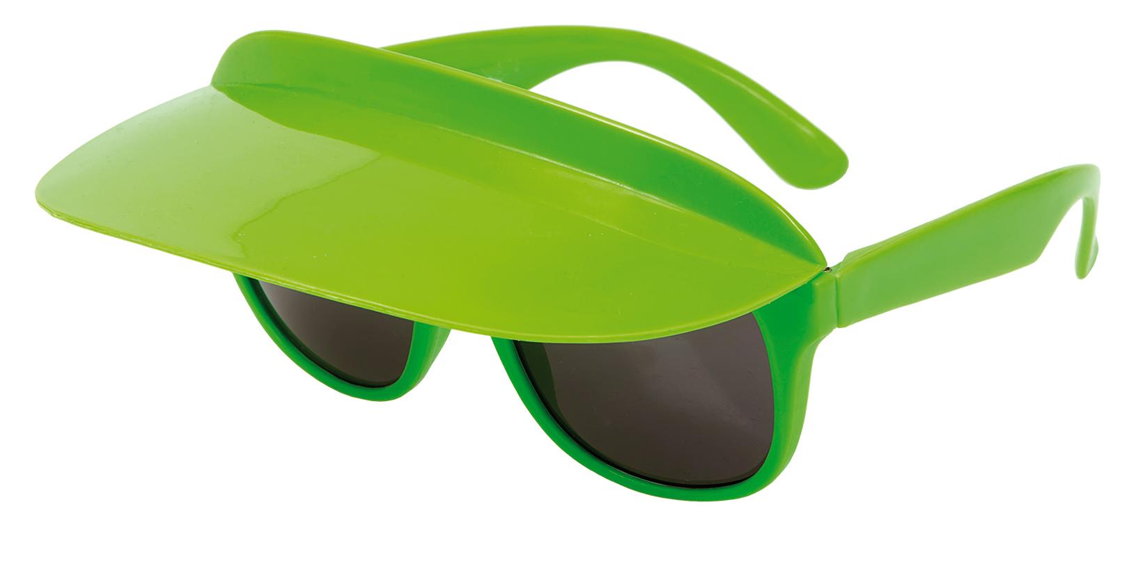 Glasögon Skärmkeps Grön