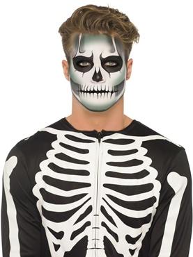 Självlysande Skelett Make Up Kit
