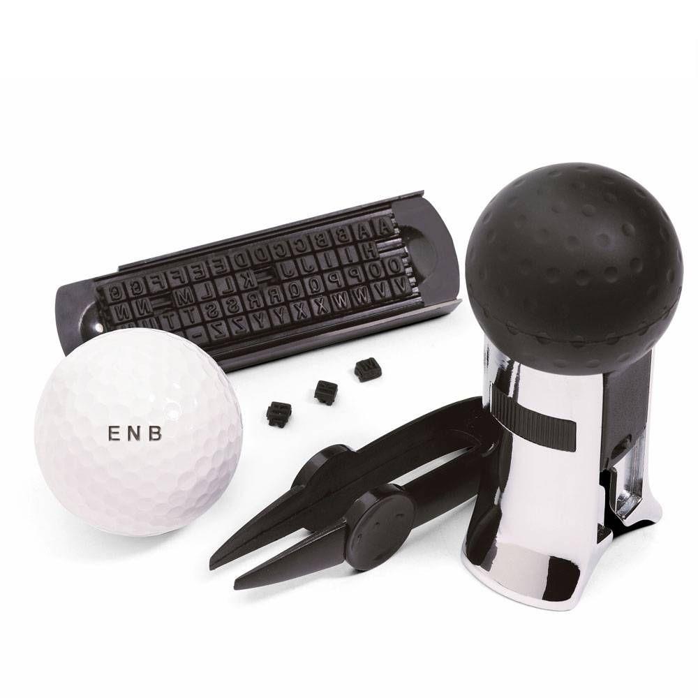 Golfbolls Stämpel