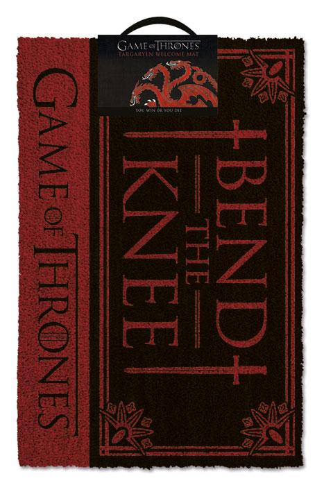 Game Of Thrones Dörrmatta Bend The Knee