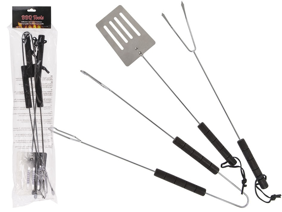 Grillverktyg 3-pack