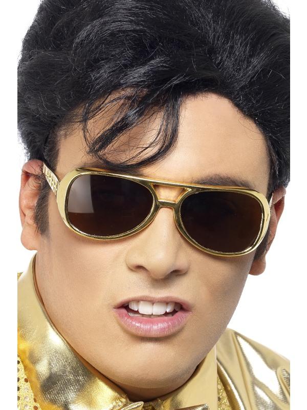 Solglasögon Elvis Guld