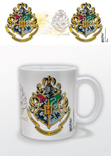 HARRY POTTER - HOGWARTS CREST MUGG thumbnail