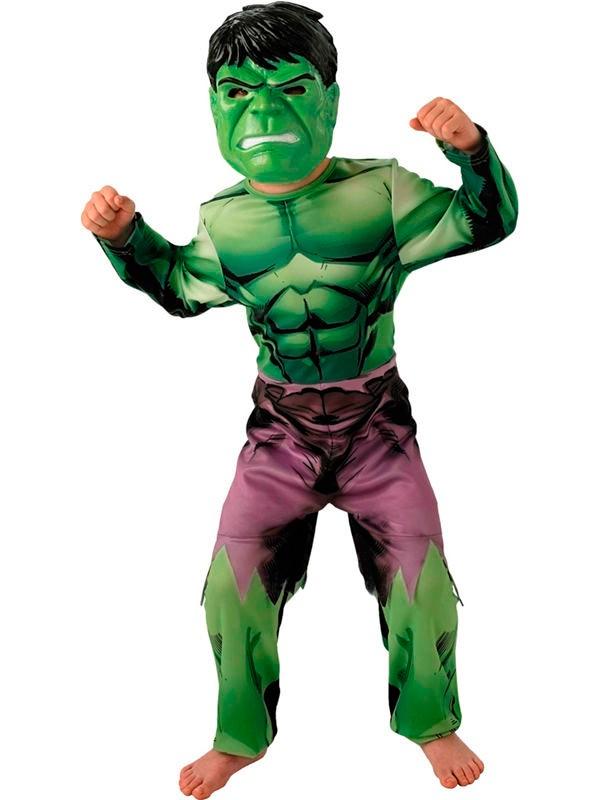 Marvel Hulk Maskeraddräkt Barn thumbnail