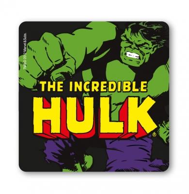 Marvel Hulken Drinkunderlägg Svart 6-pack thumbnail