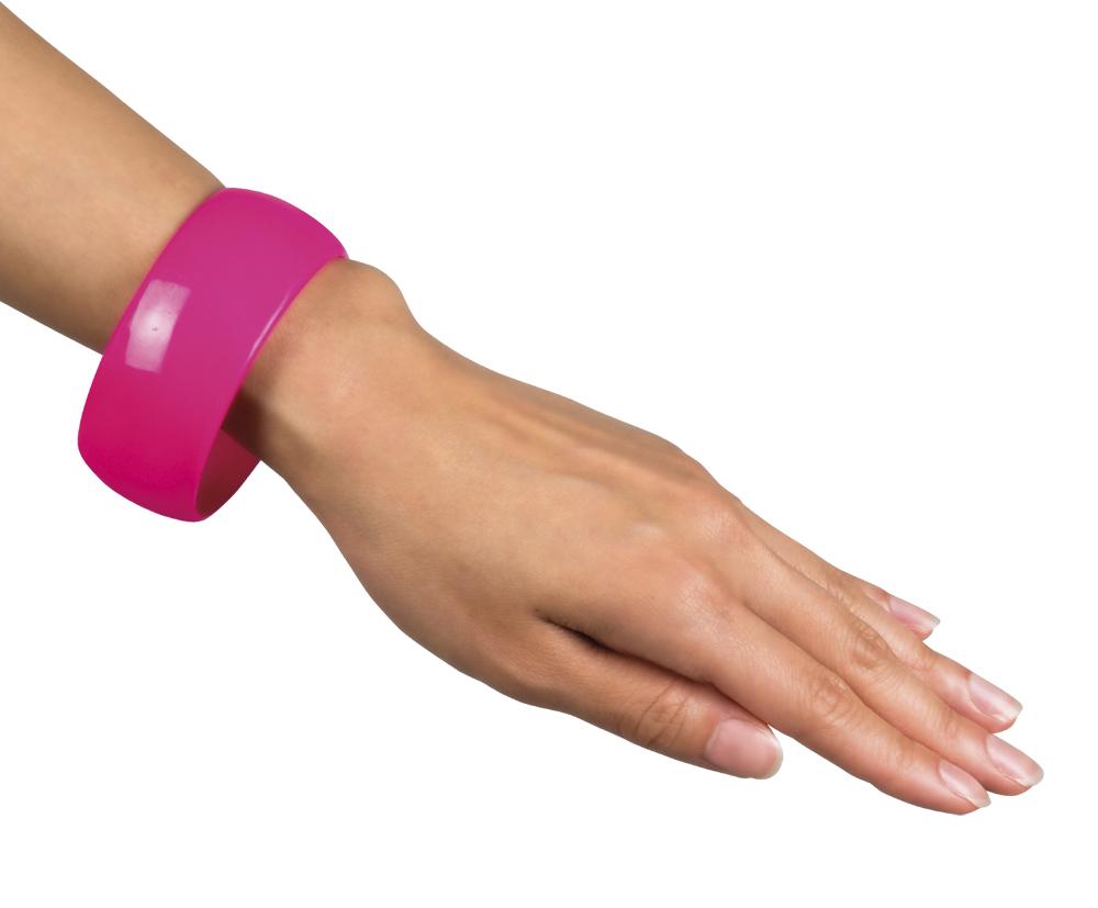 Armband Rosa 80-tal