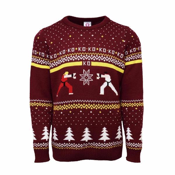Jultröja Street Fighter
