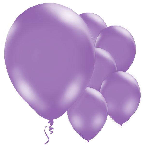 Ballonger Lila 10-pack