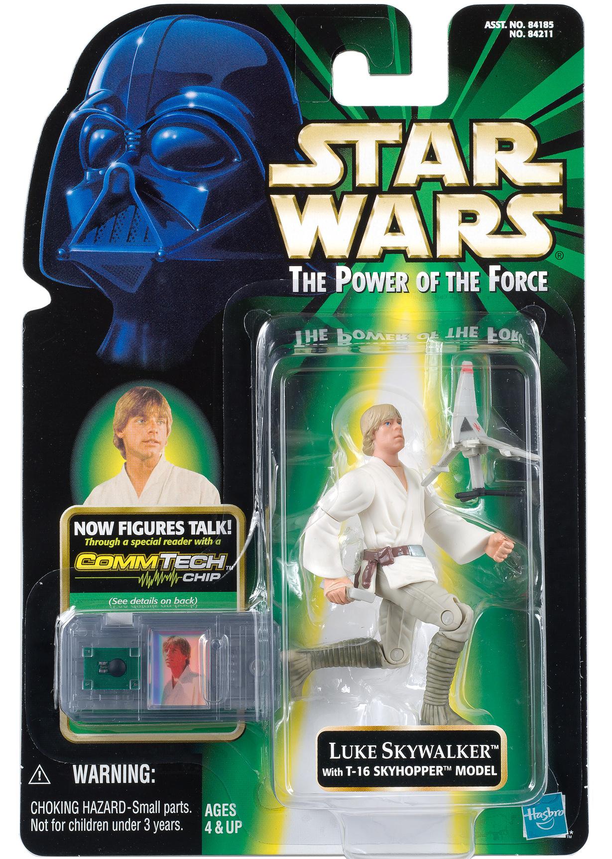 Luke Skywalker med T-16 Model thumbnail