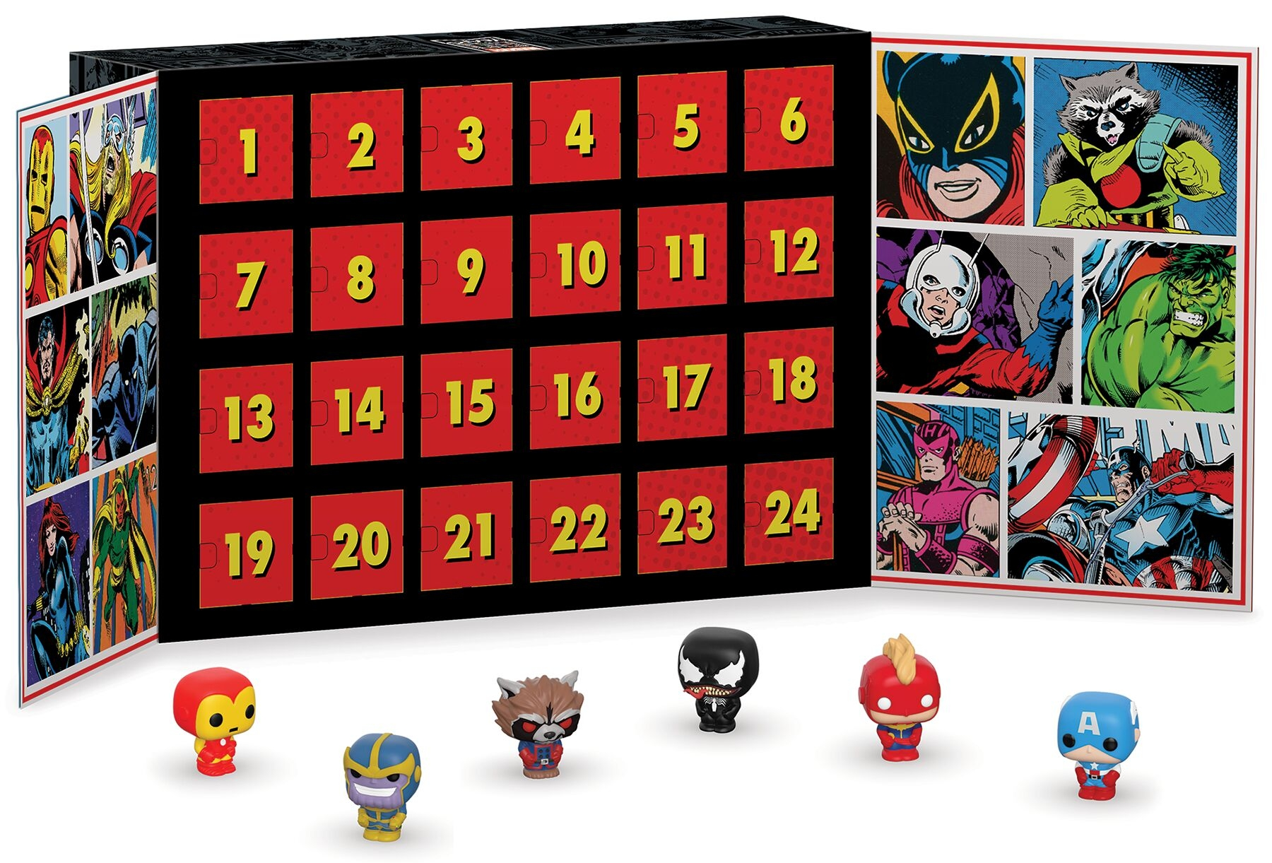 Funko! Marvel Adventskalender