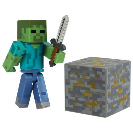 Minecraft 7cm Zombie thumbnail